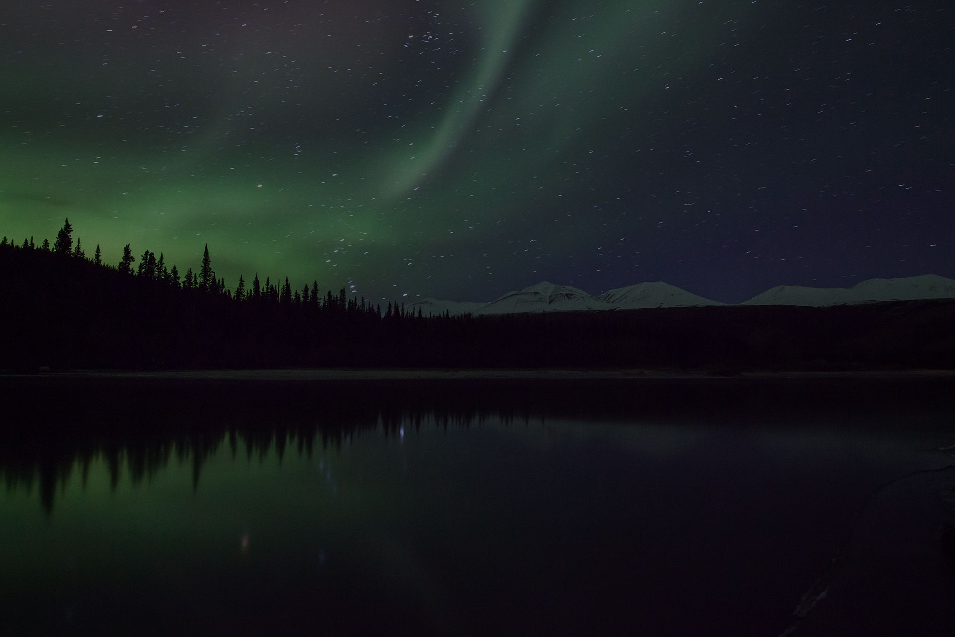 Dancing with Light A beautiful aurora show I watched in Alaska near Denali National Park
